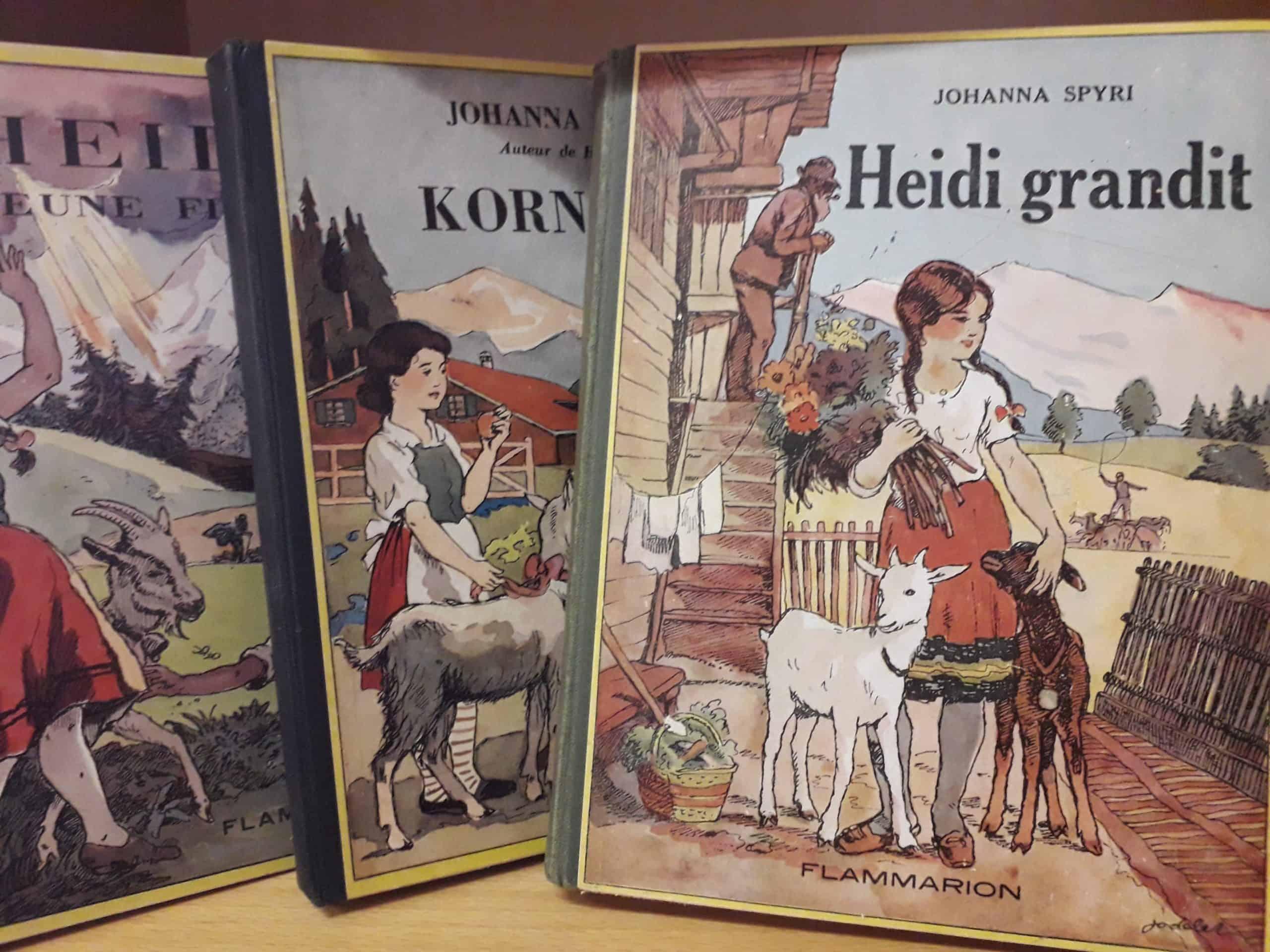 Livres anciens, Livres suisses, Livres enfants, Heidi